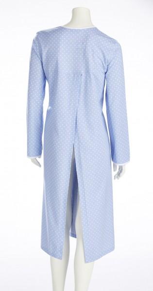 Damen-Pflegehemd 1/1 Arm bleu | S